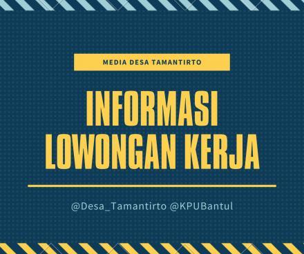 Lowongan dari KPU Kabupaten Bantul