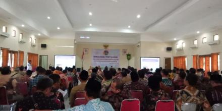 Sosialisasi Program PTSL BPN Kabupaten Bantul Tahun 2020