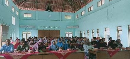 Sosialisasi Program PTSL di Balai Desa Tamantirto