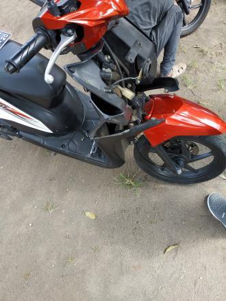 Pelatihan Mekanik Sepeda Motor Hari Ke-18 Di Balai Desa Tamantirto