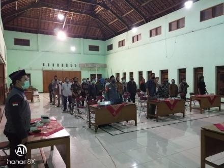 PPS Desa Tamantirto Menyelenggarakan Sosialisasi Tahapan Pemilihan Bupati & Wakil Bupati 2020