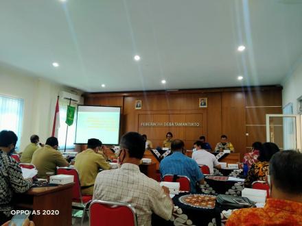 Konsultasi Publik Raperdes RKPDesa Tahun Anggaran 2021