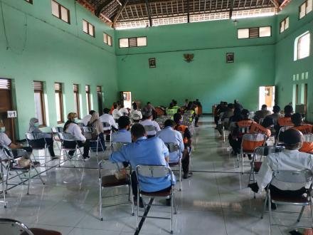 Gerakan Masyarakat Kasihan Bermasker di Desa Tamantirto