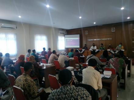 Konsultasi Publik Raperkal APBkal Tahun Anggaran 2021