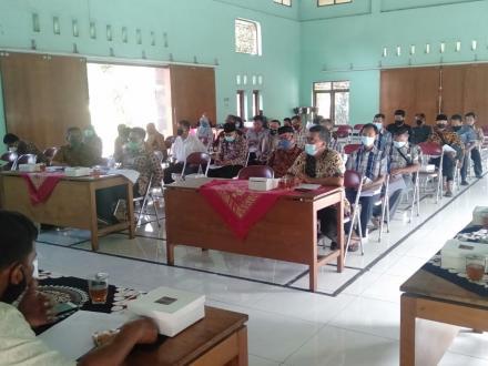 Sosialisasi Program Kerja Kalurahan Tamantirto Tahun Anggran 2021