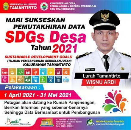 Sukseskan Pemutakhiran Data SDGs Desa Tahun 2021